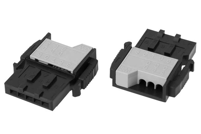 Power clamp series one touch connector for cc link