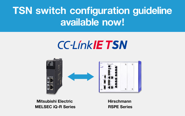 TSN switch configuration guideline available now!